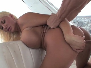 Busty sexy prostitute is getting her small snatch screwed roughly