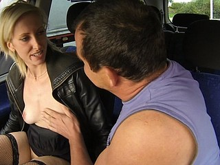Czech Wench Golden-Haired Street Slut Wants it Hard