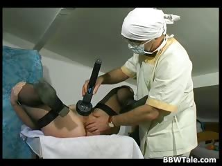 Fat old slut got tortured by horny