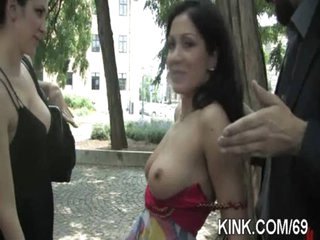 Breasty pretty girl purchased as sex slave
