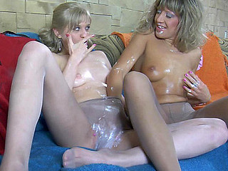 Paulina&Cora lascivious hose movie scene