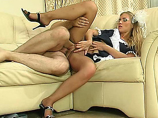 Diana&Lesley uniform pantyhose sex movie