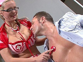 Phoenix Marie can't live without playing the part of the horny nurse.  That Babe gives David Perry some attention until his boner is too much and this chab plunges it down her face gap and into her cum-hole.  It's just a matter of time in advance of Phoenix is getting sodomized and overspread in jizz.