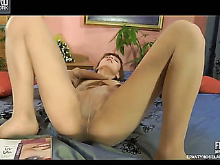 Sophy in pantyhose clip