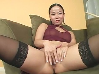 Asian Playgirl Gets Ripped Up By Black Cock