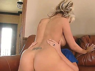 Busty blonde honey Briana Blair loves to unfathomable suck and fuck Rocco Reeds beefy and stiff dick
