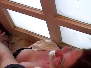 This babe comes over for a swallow and acquires tied up and abused and screwed hard
