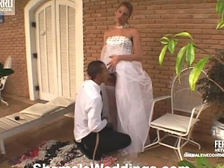Bia enchanting shemale bride
