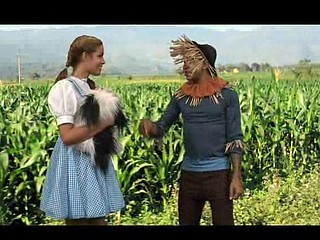 Dorothy Butt Bounces With the Witch!