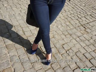 Tall young beauty Katarina is sightseeing today, learning about historical places, happy in life and love when our man in the street comes up and begins charming her. She always wanted to be in films, but never had the opportunity. Today's her favourable day...... to acquire screwed in public! Will our cameraman charm her further into cheating on her man and getting dicked near a historical castle?