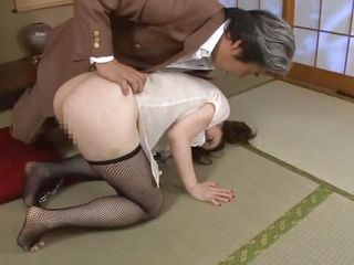 It's something about Japanese bitches and anal sex that drives us crazy. For example this one, Yuu makes us horny only by the way that babe moans not to talk about seeing her big sexy ass and those hot thighs. Do u think Yuu deserves a harsher treatment, greater amount humiliation and a deeper ass fucking?