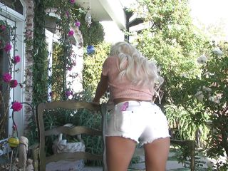 Niki Juvenile loves to take her playtime outside. The fresh air and marvelous flowers make her feel greater amount than a little excited, to the point where she loves to take in a little greater amount than the scenery. She loves to undress her clothes away and add a dildo to her sweet pink pussy.