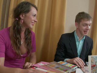 youthful tutor enchanting horny teen babe