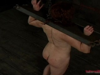 BDSM punishment for slutty dark brown