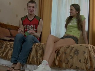 One rod cannot fill all hungry holes of the legal age teenager slut