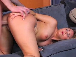 Bent couch and slammed with wang