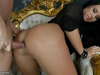 Bettina Dicapri acquires her butt screwed balls deep from behind