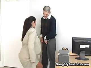 Filthy Boss Fucking Her Assistant