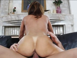Alluring Deauxma gets slammed up her soaked pantie pot