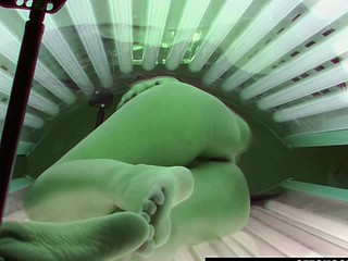 Solarium Hidden Webcam Compilation