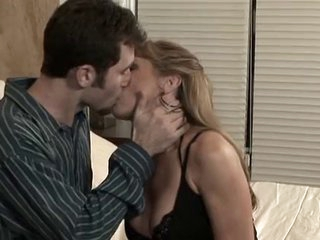 Mature Hot Mom With Juvenile Man in Bedroom