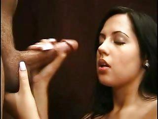 Consummate Handjob nice wife sensitive Hand love girl
