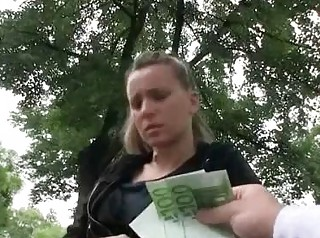 Hot Czech gal picked up screwed and payed