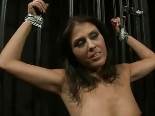 Mistress playing with hot slavegirl