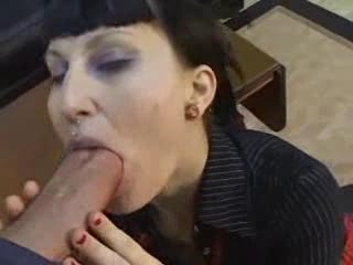 Goth Punk Girl Gets Gangbanged My Huge Cock
