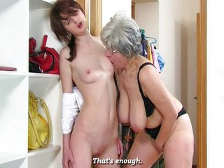 Aged Lesbian + Teen 01