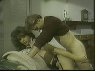 Vintage shemale maid receives drilled by a host