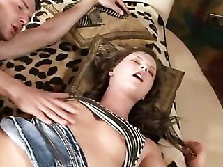 Virgin girl fingers fur pie