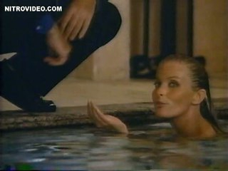 Stunning Retro Golden-haired Bo Derek Swimming Absolutely Naked