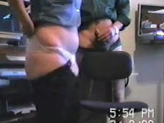 Nice secretary and her boss