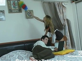 Leah&Vitas nifty pantyhose movie