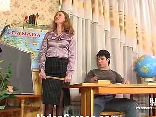 Irene&Adam red hawt nylon movie