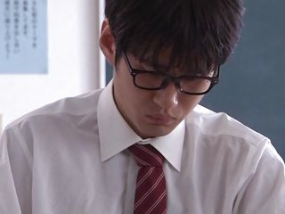 Well, when you have such a sexy teacher like Arisu is a bit hard to stay focused. This smokin' hot asian teacher has a slim, glamorous body and a pretty face that needs a few loads of cum on it. That babe approaches her dorky student and pays him some special attention. Is Arisu going to teach him how to fuck her?
