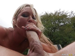 abbey brooks acquires a huge dick in her asshole