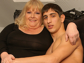 Horny grandma gets drilled by her toyboy