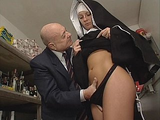 Nun & Ribald old man. No sex