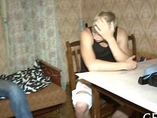 Guy bangs her as hard as nobody video 7