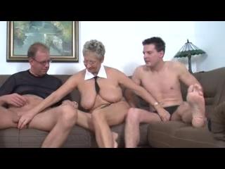 Sexy German Mature Threesome
