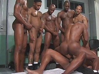 Homosexual Interracial Double Anal Penetration