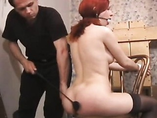 Playgirl becomes tractable and the ropes leave her vulnerable