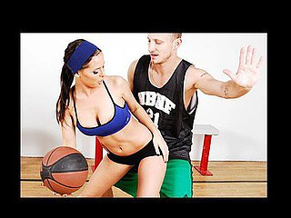 Brandy has won a contest to play a game of 1-on-1 with her favourite basketball player, Mr. Pete.  This Babe is absolutely ecstatic to meet her idol.  Brandy suggests a game of H-O-R-S-E, merely with a twist: the game is truly W-H-O-R-E and Brandy has alternate motives in mind. But, Mr. Pete is more than happy to do anything for his fans, especially if that means doing Brandy's impure cleft. In A Short Time Mr. Pete and Brandy are fucking, proving that there are no losers in basketball.