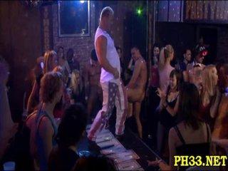 Tons of Blonde ladies sucking dicks