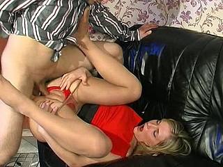 Benett&Monty perverted nylon footsex