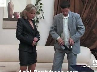Benett&Lewis mindblowing anal hose episode