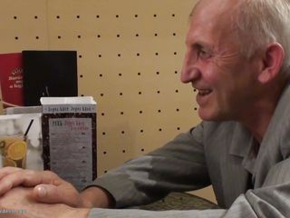 old geezer receives a hot date with jaden