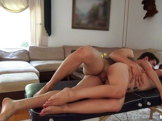 No thing is hotter then a large booty latina with hirsute shapes. She's a cutie with long dark hair, cute tits and a huge appetite for fucking. That babe takes it hard from her boy and her shaved snatch get's larger and wetter, preparing for a large load of cum. He spreads her legs and drills that cunt as unfathomable as this guy can before she acquires on top like a real latina and rides him with her delicious butt. Wanna see a large load of semen on that perfect ass?